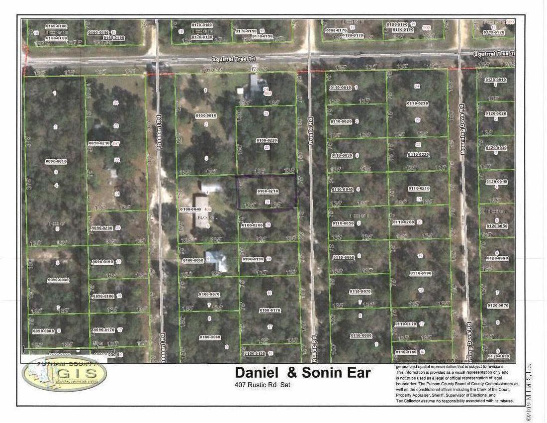 407 RUSTIC, SATSUMA, FLORIDA 32189, ,Vacant land,For sale,RUSTIC,985323