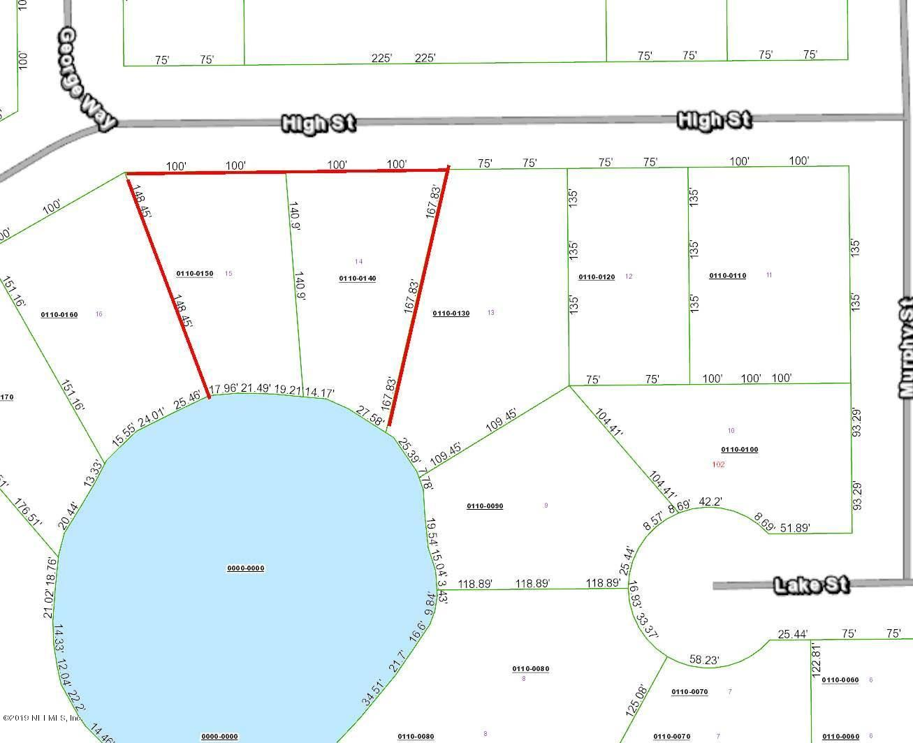 107 HIGH, INTERLACHEN, FLORIDA 32148, ,Vacant land,For sale,HIGH,985540