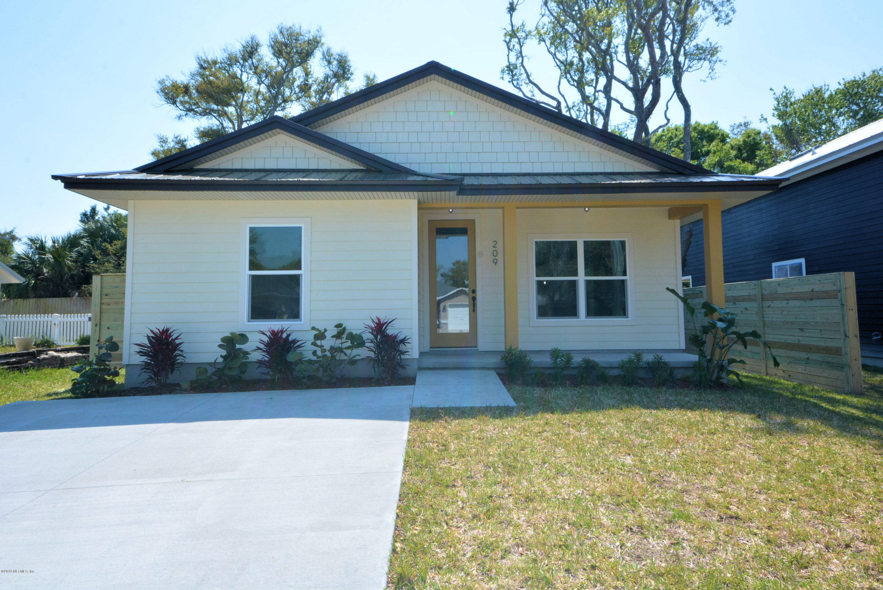 209 3RD, ST AUGUSTINE, FLORIDA 32080, 3 Bedrooms Bedrooms, ,2 BathroomsBathrooms,Residential - single family,For sale,3RD,985962