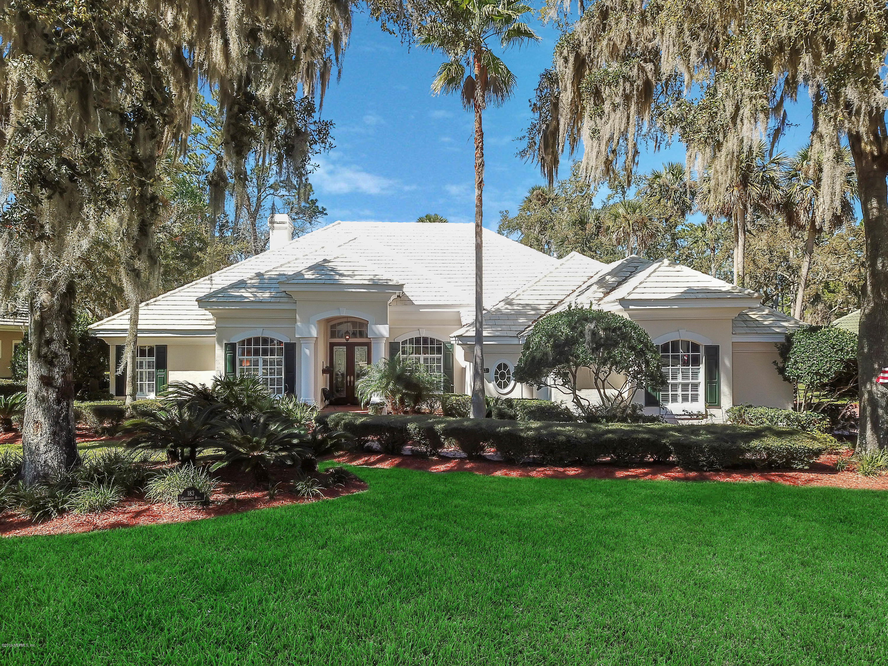 183 GOVERNORS, PONTE VEDRA BEACH, FLORIDA 32082, 4 Bedrooms Bedrooms, ,3 BathroomsBathrooms,Residential - single family,For sale,GOVERNORS,986347