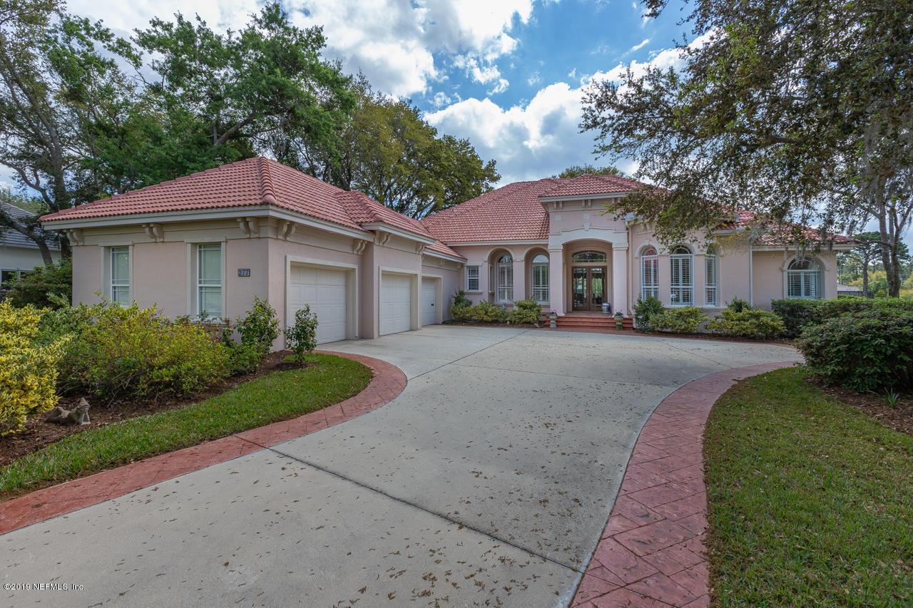 277 PLANTATION, PONTE VEDRA BEACH, FLORIDA 32082, 5 Bedrooms Bedrooms, ,5 BathroomsBathrooms,Residential - single family,For sale,PLANTATION,987199