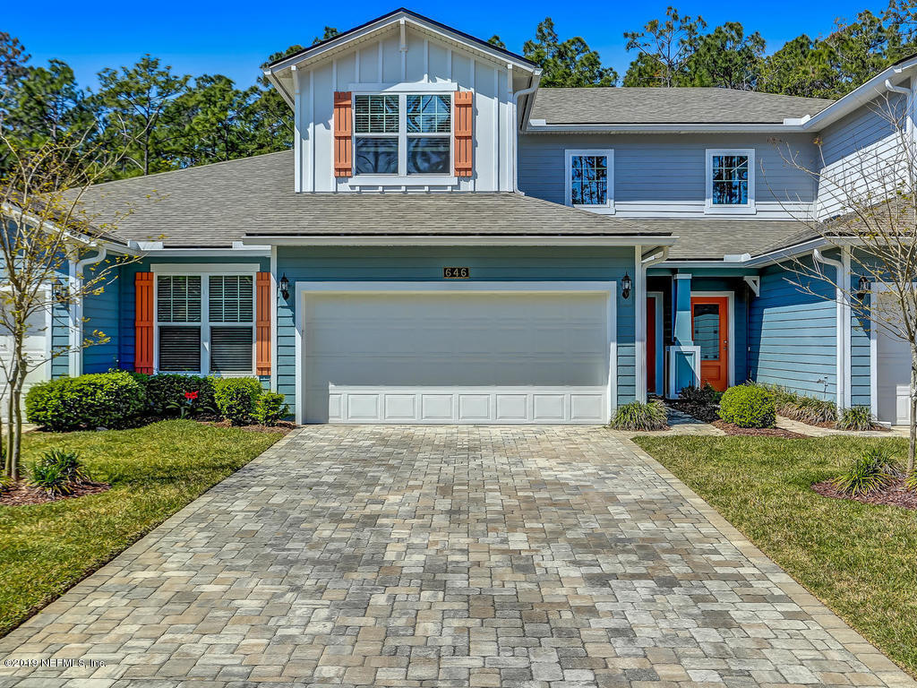 646 COCONUT PALM, PONTE VEDRA BEACH, FLORIDA 32081, 3 Bedrooms Bedrooms, ,2 BathroomsBathrooms,Residential - single family,For sale,COCONUT PALM,986972