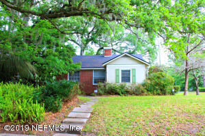Avondale Property Photo of 4503 Kerle St, Jacksonville, Fl 32205 - MLS# 985637
