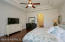 Plenty of room for oversized bedroom furniture