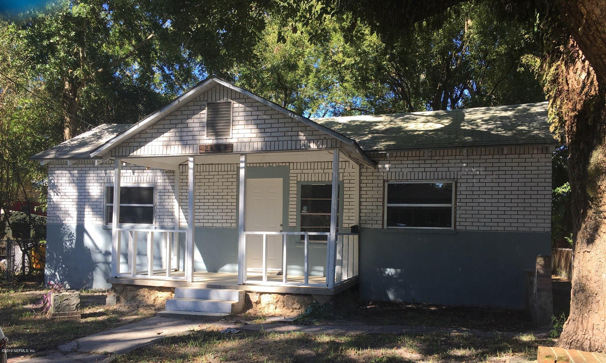 2469 WYLENE, JACKSONVILLE, FLORIDA 32209, 3 Bedrooms Bedrooms, ,1 BathroomBathrooms,Residential - single family,For sale,WYLENE,991007