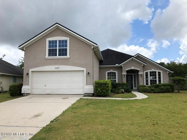 417 Johns Creek Pkwy St Augustine, FL 32092