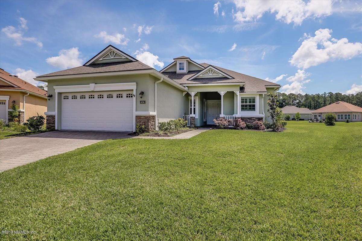 636 N Legacy Trl St Augustine, FL 32092