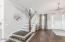 "7"" Oak Hardwood Flooring on First Floor"