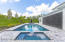 Beautiful Heated Salt-Water Pool with Spa, Paver Patio and Custom Landscaping