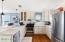 Pretty kitchen, stainless appliances