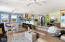 Second floor living/dining & kitchen offers great flow