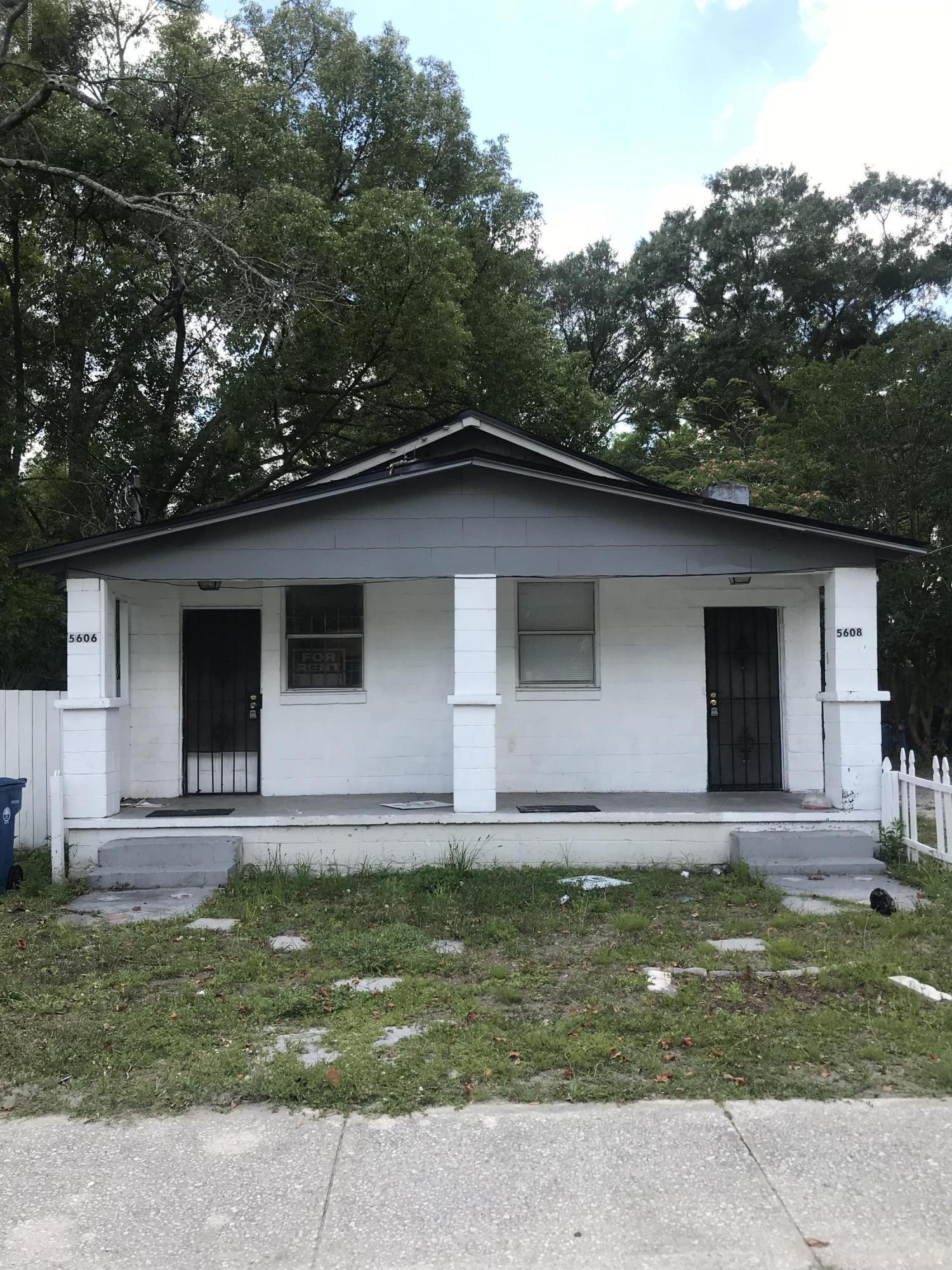 5606 MONCRIEF, JACKSONVILLE, FLORIDA 32209, 4 Bedrooms Bedrooms, ,2 BathroomsBathrooms,Commercial,For sale,MONCRIEF,996555