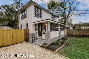 Avondale Property Photo of 1110 Wycoff Ave, Jacksonville, Fl 32205 - MLS# 996772