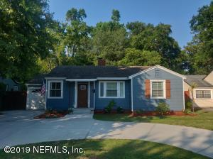 Avondale Property Photo of 1527 Charon Rd, Jacksonville, Fl 32205 - MLS# 998238