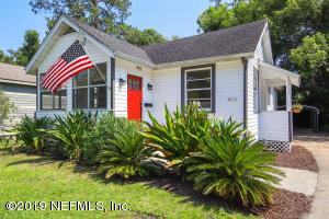 Avondale Property Photo of 4630 Attleboro St, Jacksonville, Fl 32205 - MLS# 998764