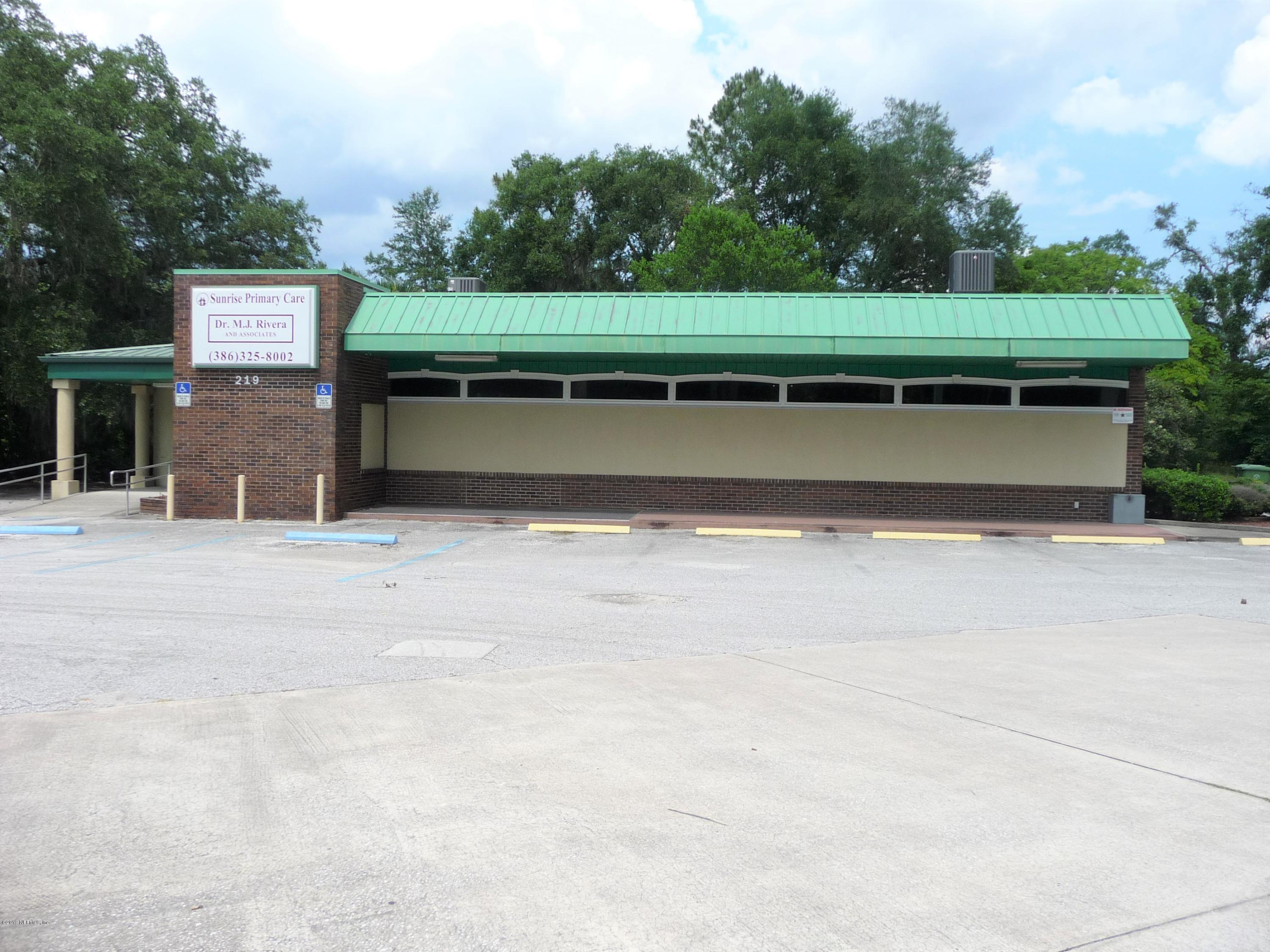 219 PALM, PALATKA, FLORIDA 32177, ,Commercial,For sale,PALM,1001502