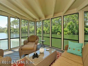Enjoy the bird sanctuary while sitting on your porch.