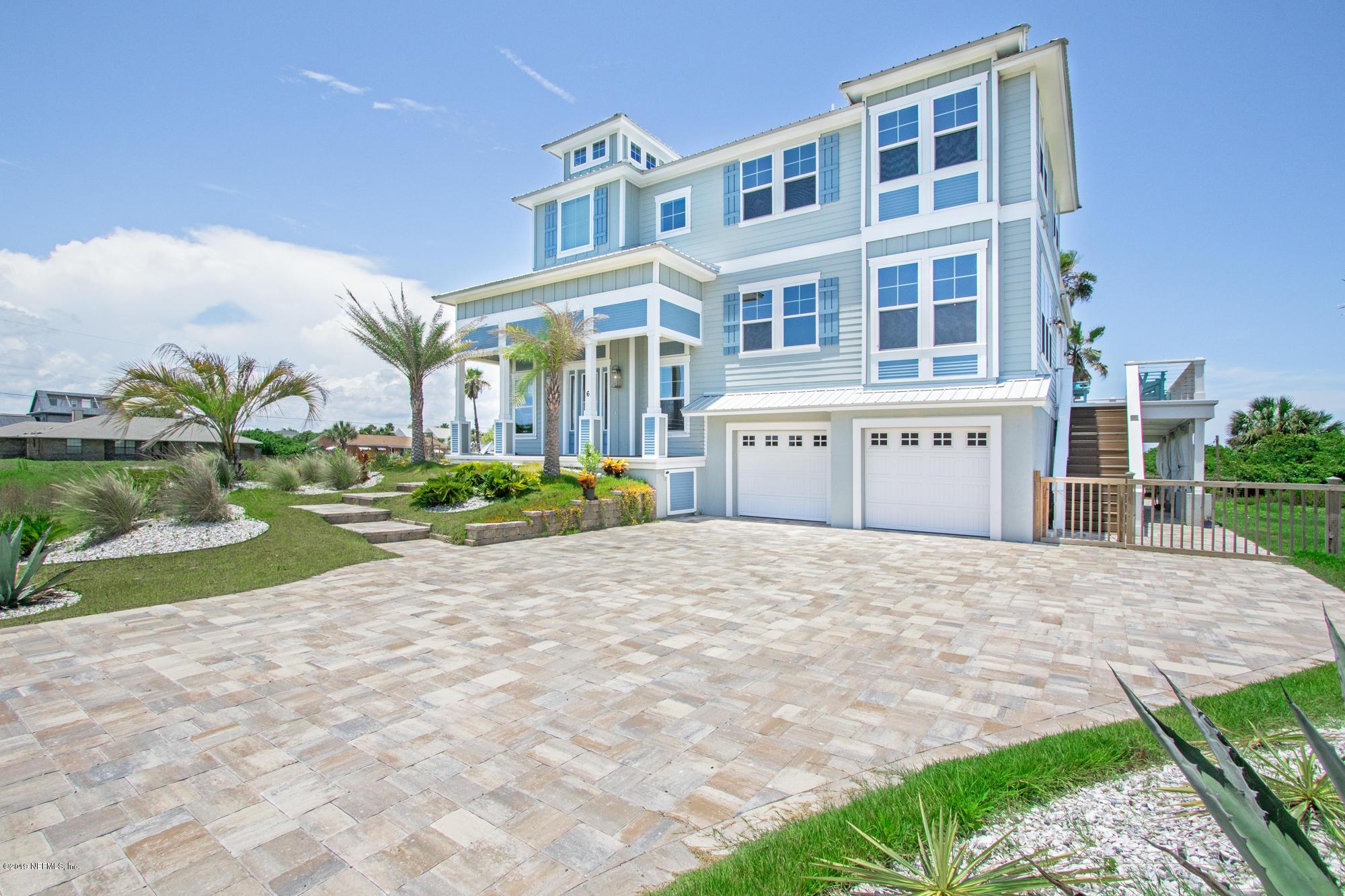 6 OCEANSIDE, ST AUGUSTINE, FLORIDA 32080, 5 Bedrooms Bedrooms, ,4 BathroomsBathrooms,Residential - single family,For sale,OCEANSIDE,1005230
