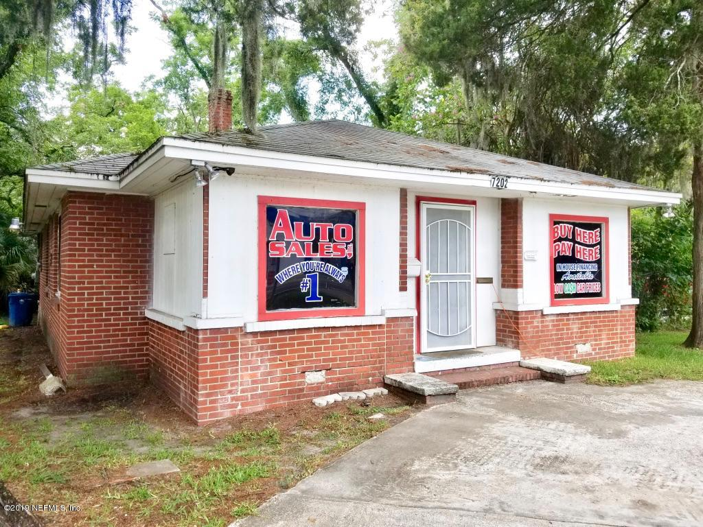 7202 LEM TURNER, JACKSONVILLE, FLORIDA 32208, ,Commercial,For sale,LEM TURNER,1005409
