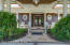 Gorgeous front doors welcome you in style.