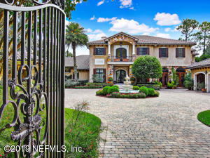 Private and gated with pavered courtyard.