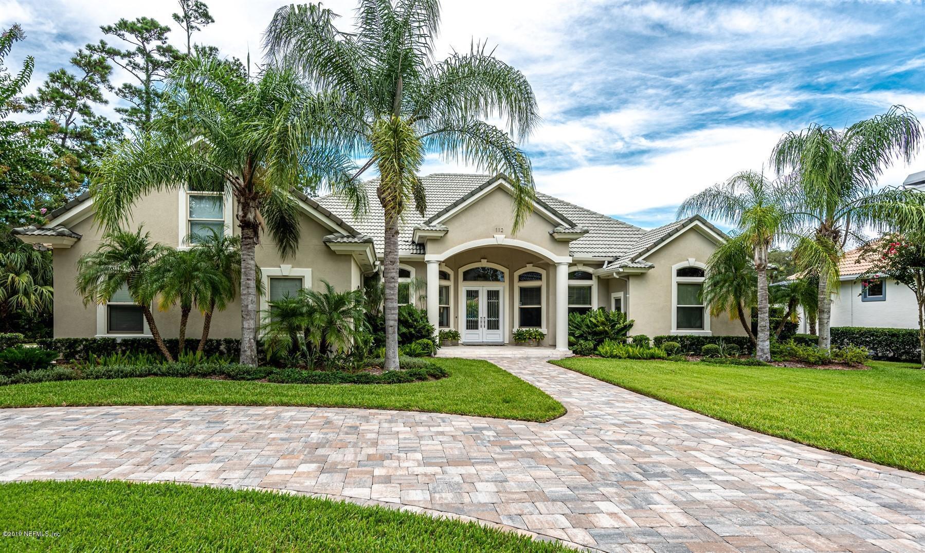 112 BROAD, PONTE VEDRA BEACH, FLORIDA 32082, 4 Bedrooms Bedrooms, ,3 BathroomsBathrooms,Residential - single family,For sale,BROAD,1009519
