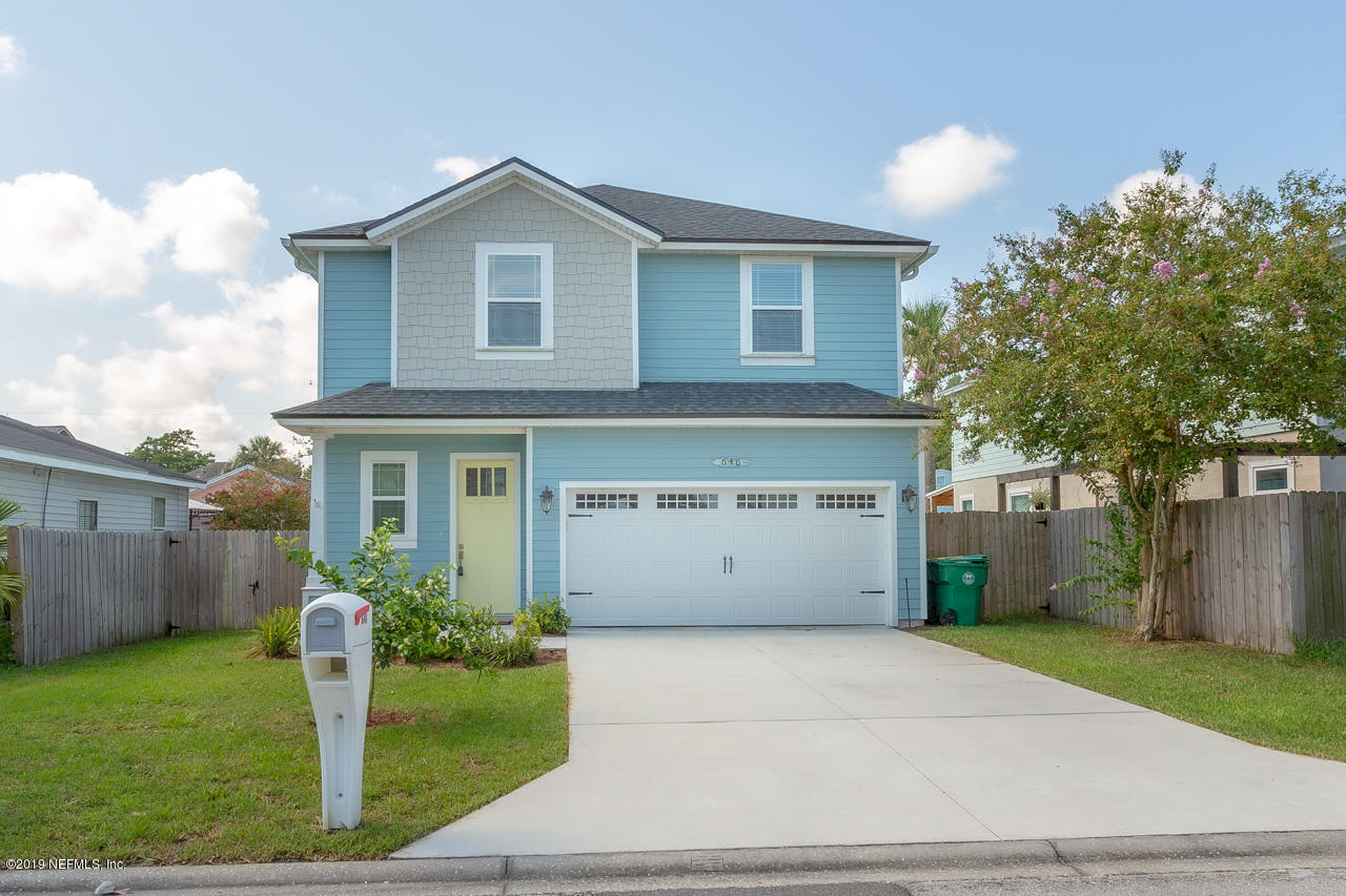 646 LOWER 8TH, JACKSONVILLE BEACH, FLORIDA 32250, 4 Bedrooms Bedrooms, ,2 BathroomsBathrooms,Residential - single family,For sale,LOWER 8TH,1010781