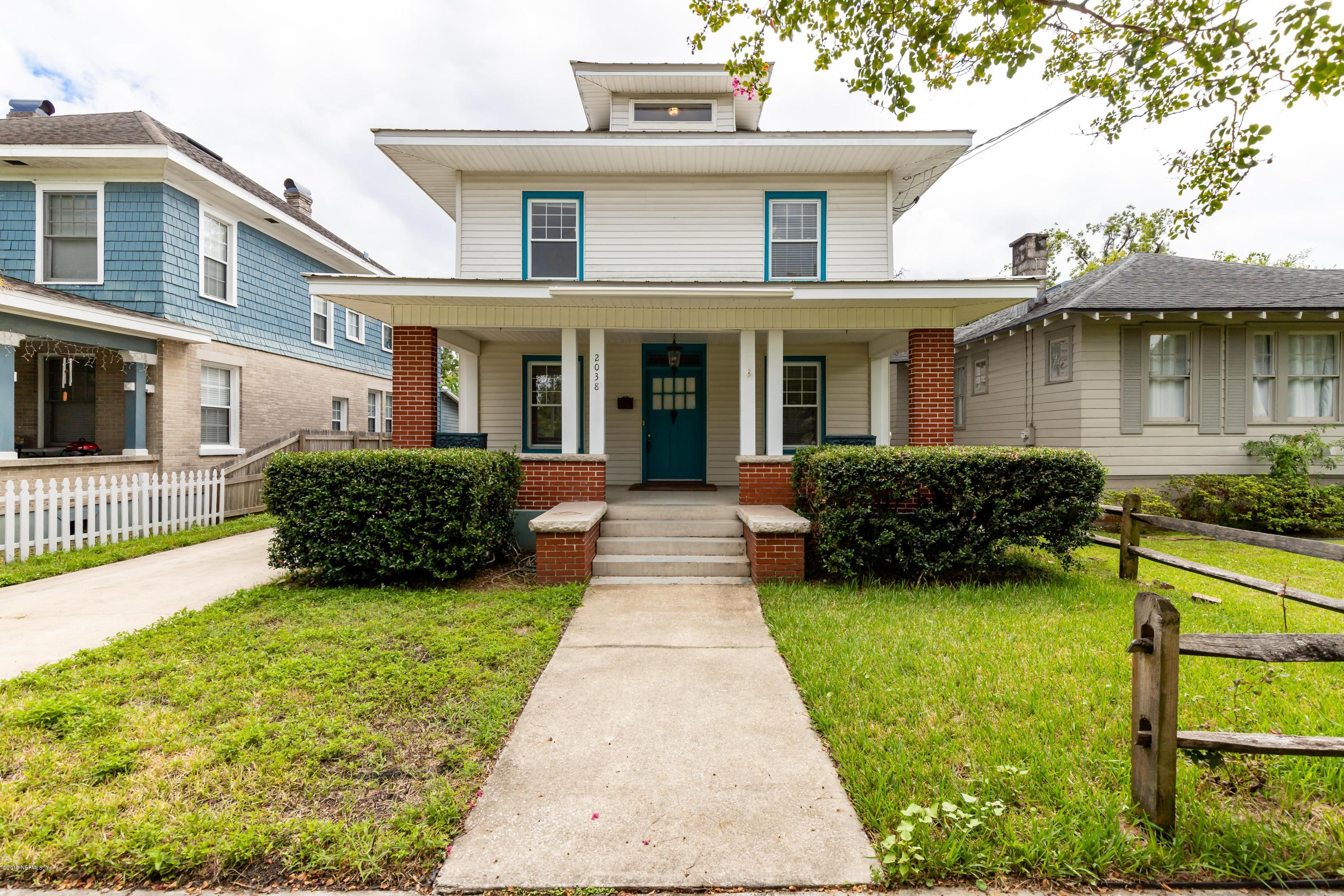 2038 COLLEGE, JACKSONVILLE, FLORIDA 32204, 3 Bedrooms Bedrooms, ,2 BathroomsBathrooms,Residential - single family,For sale,COLLEGE,1011652