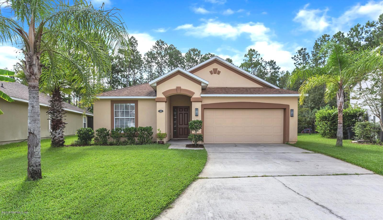 112 BURGHEAD, ST JOHNS, FLORIDA 32259, 4 Bedrooms Bedrooms, ,2 BathroomsBathrooms,Residential - single family,For sale,BURGHEAD,1011492
