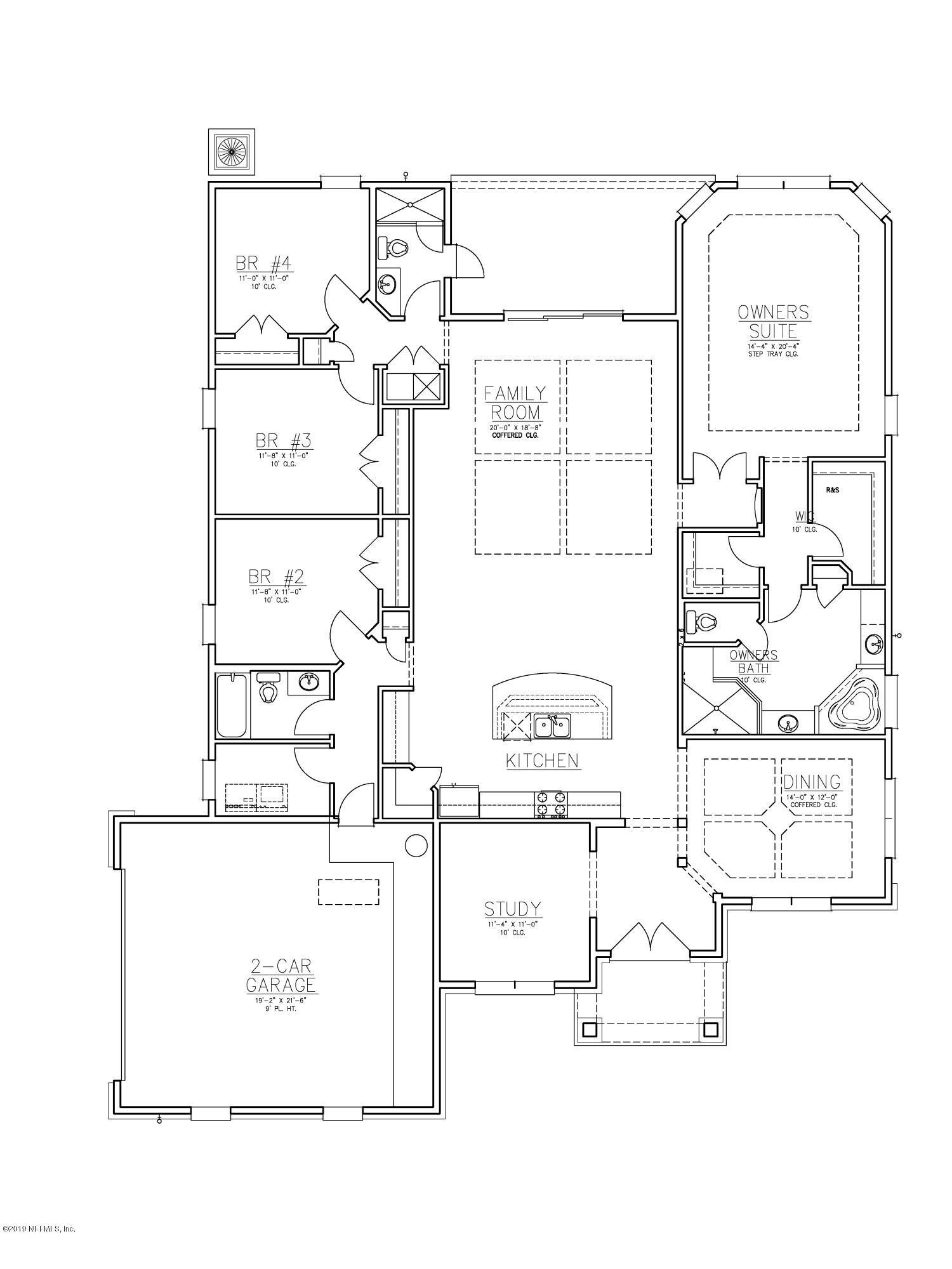 1018 JAYLA, ORANGE PARK, FLORIDA 32073, 4 Bedrooms Bedrooms, ,3 BathroomsBathrooms,Residential - single family,For sale,JAYLA,1012168
