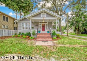 Avondale Property Photo of 3224 Herschel St, Jacksonville, Fl 32205 - MLS# 1015869
