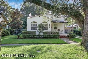 Avondale Property Photo of 1272 Belvedere Ave, Jacksonville, Fl 32205 - MLS# 1019863