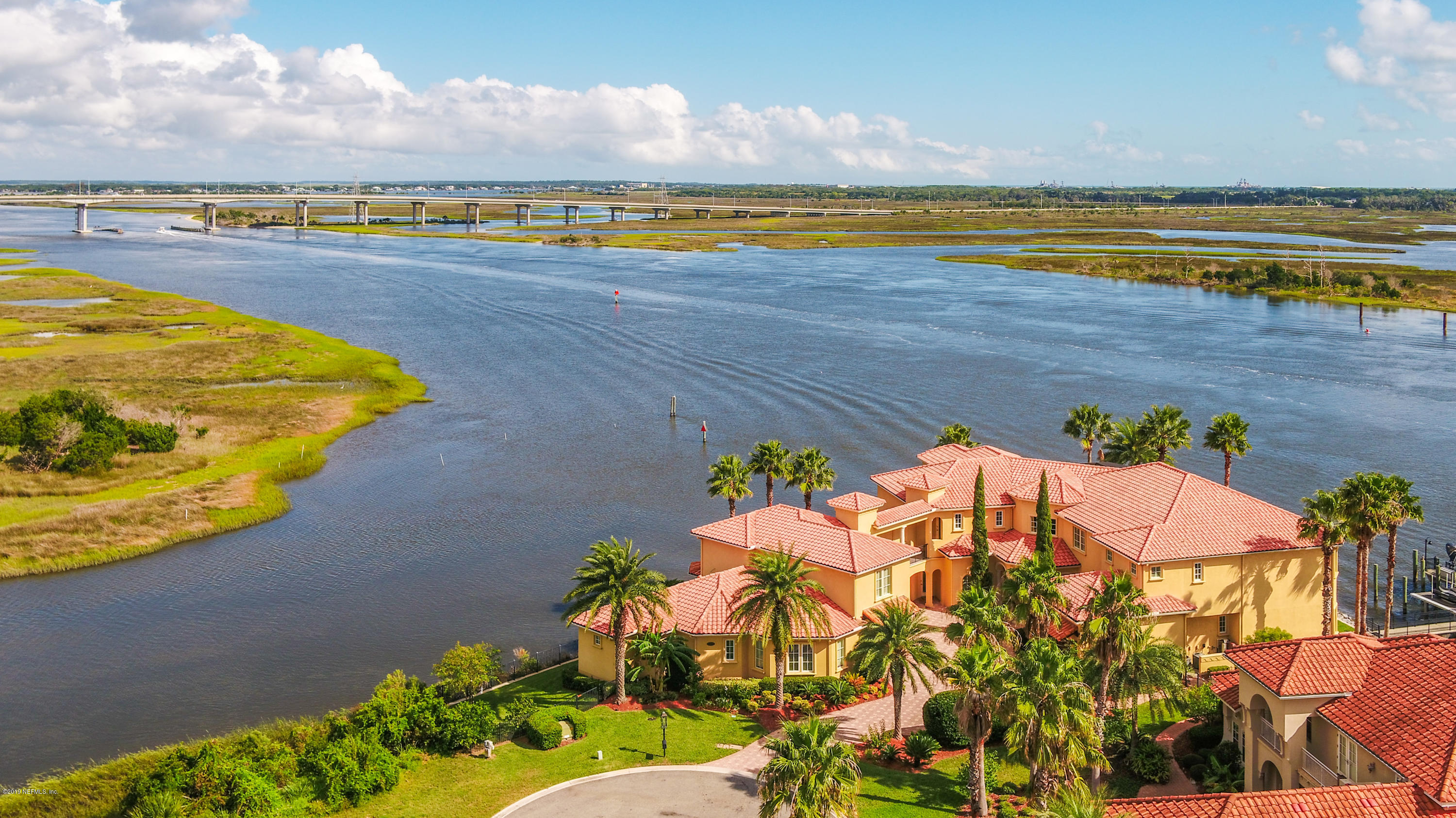 Boaters dream. LISTED UNDER APPRAISED VALUE! Closest home to the Atlantic Ocean in a Gated Community! You have seen this estate and you have dreamed about how it you could be yours. Now your dreams can come true. As you drive down the private oasis of ''The Island'' to your grand  home; you see beautiful Intracostal Waterway views to your right and to your left breathtaking nature. Privacy has never felt so exclusive as you enter your magnificent residence. Is it a boat and jet ski day? A soak up the sun day? Will you have a movie day? Or a pool day? How does it sound to have a lot of everything? This home offers it all and more. You truly can have it all.Luxury finishes coupled with functionality to make everyday life truly just another day in paradise.