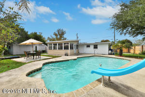 This Atlantic Beach Home offers Tons of Storage, Parking and a Pool!!