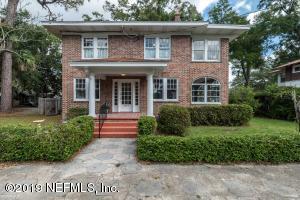 Avondale Property Photo of 1405 Donald St, Jacksonville, Fl 32205 - MLS# 1021950