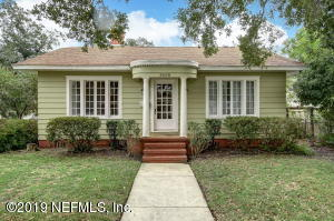 Avondale Property Photo of 3608 Trask St, Jacksonville, Fl 32205 - MLS# 1024443