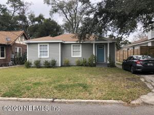 Avondale Property Photo of 4719 French St, Jacksonville, Fl 32205 - MLS# 1035091