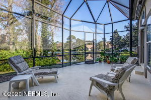 Amazing views off one of your 2 porches!! This one has a retractable awning!