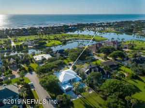 Newly constructed in 2016 and the best of locations on a corner lot within a short stroll to the Ponte Vedra Inn & Club and beach access.
