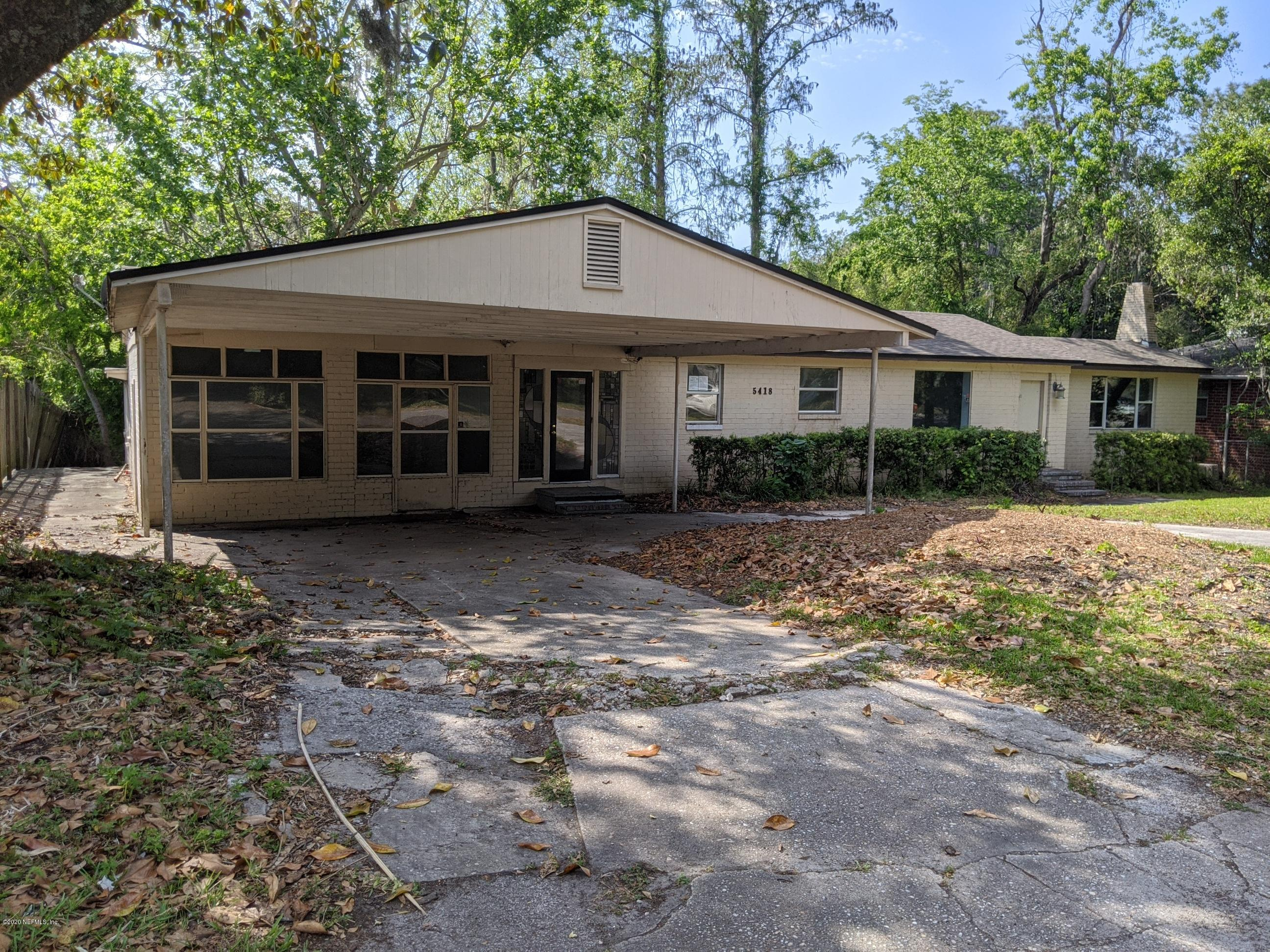 5418 Eulace Rd, JACKSONVILLE, FL 32210