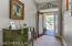 """I love this entrance as it is the perfect welcoming stage to the home and the width is wider than most other homes. A great area to """"set the stage"""" of your home and decorate with personality."""