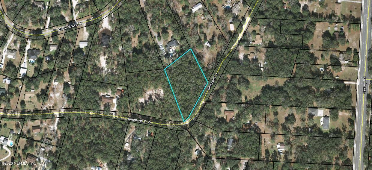 Listing Details for 0 Simmons Trl, GREEN COVE SPRINGS, FL 32043