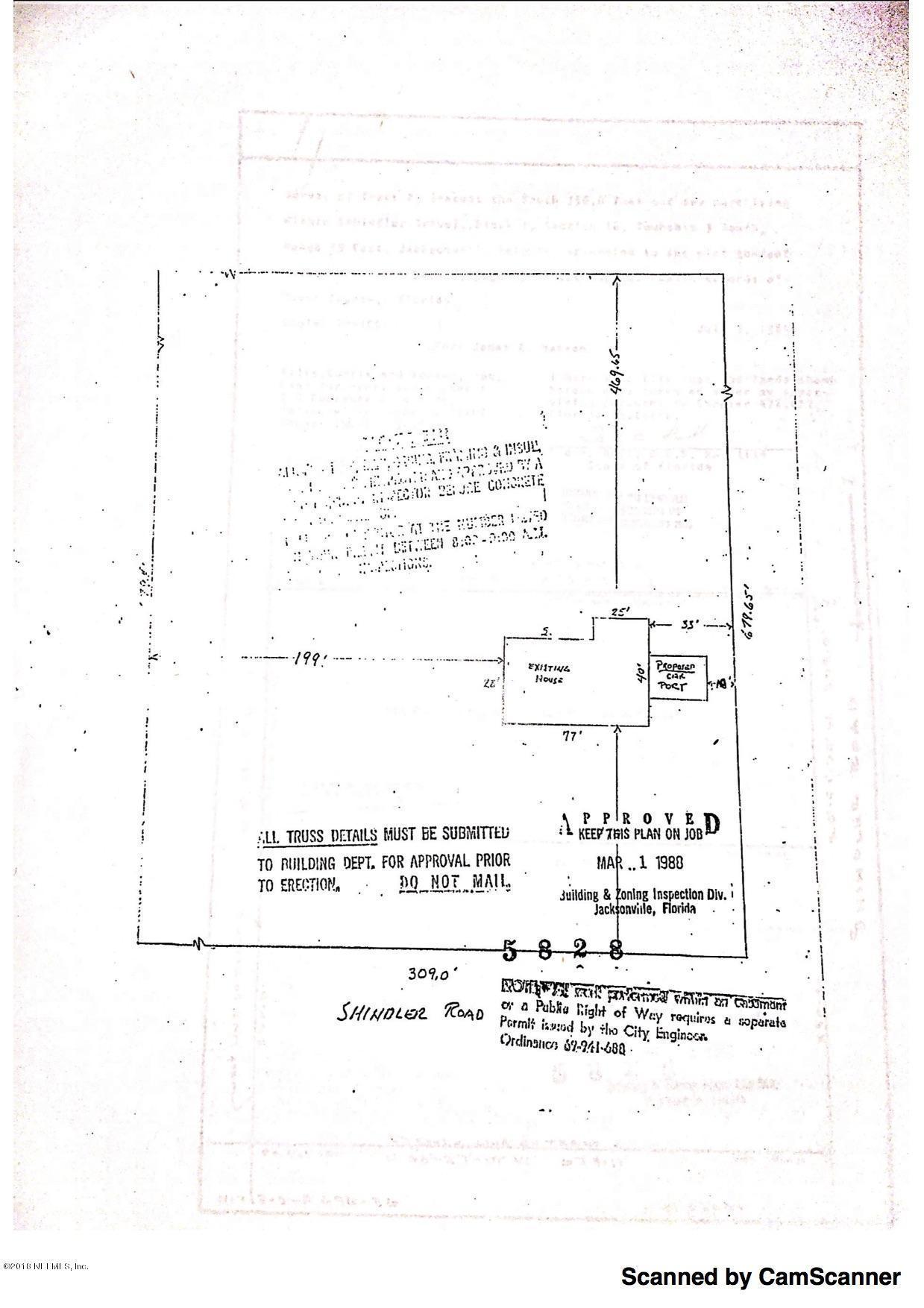 Details for 5524 Shindler Dr, JACKSONVILLE, FL 32222