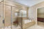 Owner's Bath - Separate Shower and Soaker Tub