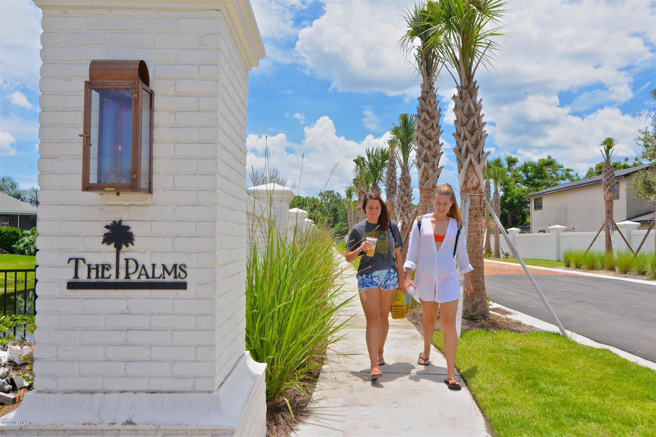 The Palms at Old Ponte Vedra, steps to the Beach & the Lodge & Club. This Custom Home features a Pool, 4 BR, 4.5 Baths (plus a Pool Bath), 1st floor Study, Butler's Kitchen, 2nd floor Gathering Room, Flex Room, and 2-Car Garage w/ ample storage.  Open Floorplan, Built-in Wine Cellar, 2nd FL Wet Bar, Fireplace in FR & Amazing Outdoor Living. Natural Gas Community. St. Johns Co Schools. Exceptional QUALITY.  Coastal Architectural Style with Cedar Shake Shingles, Stucco and a Metal Roof.