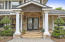 Double Door Entrance and inviting front porch