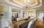 2 Tiered Tray Ceiling features beautiful mill wor