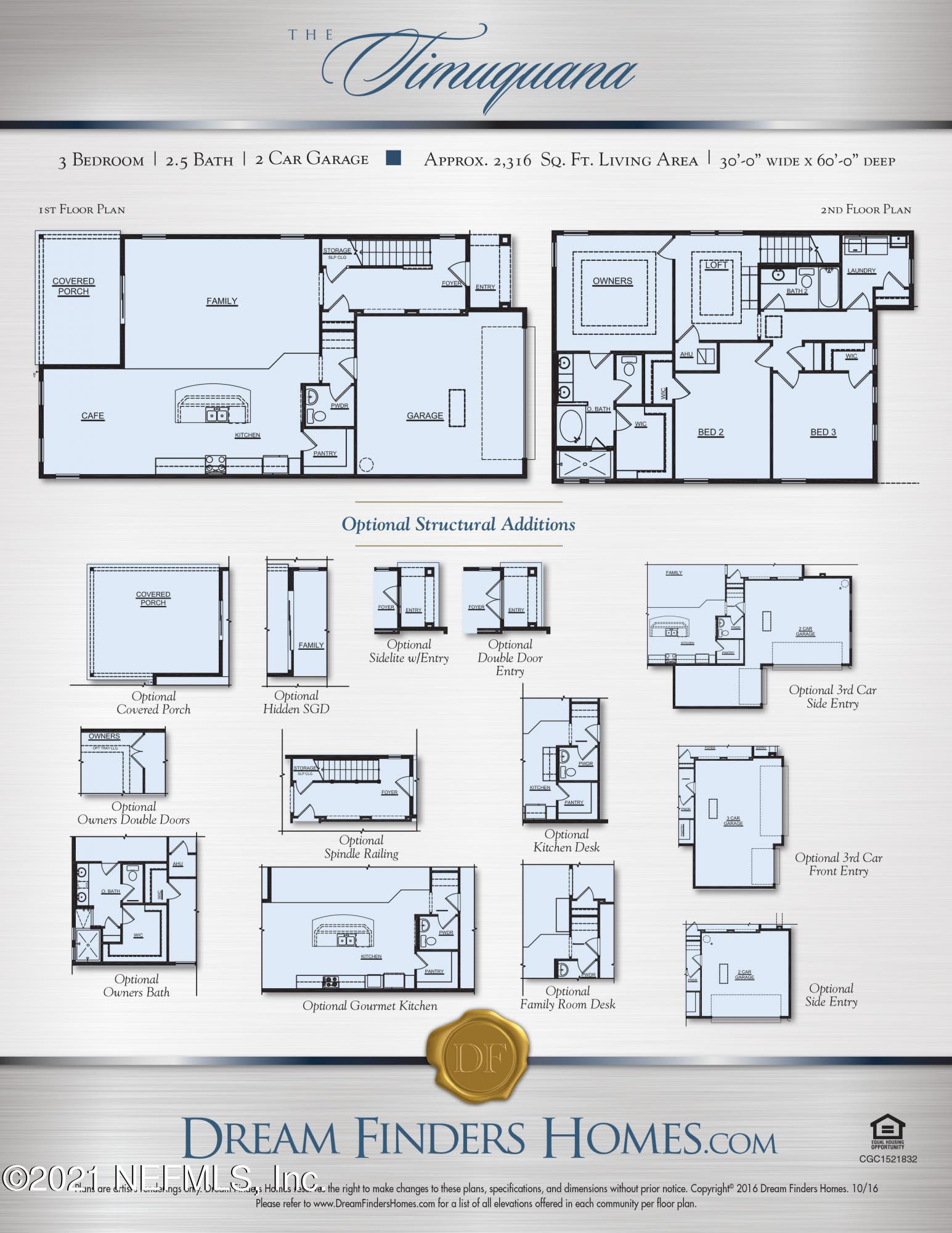 Timuquana Floor Plan