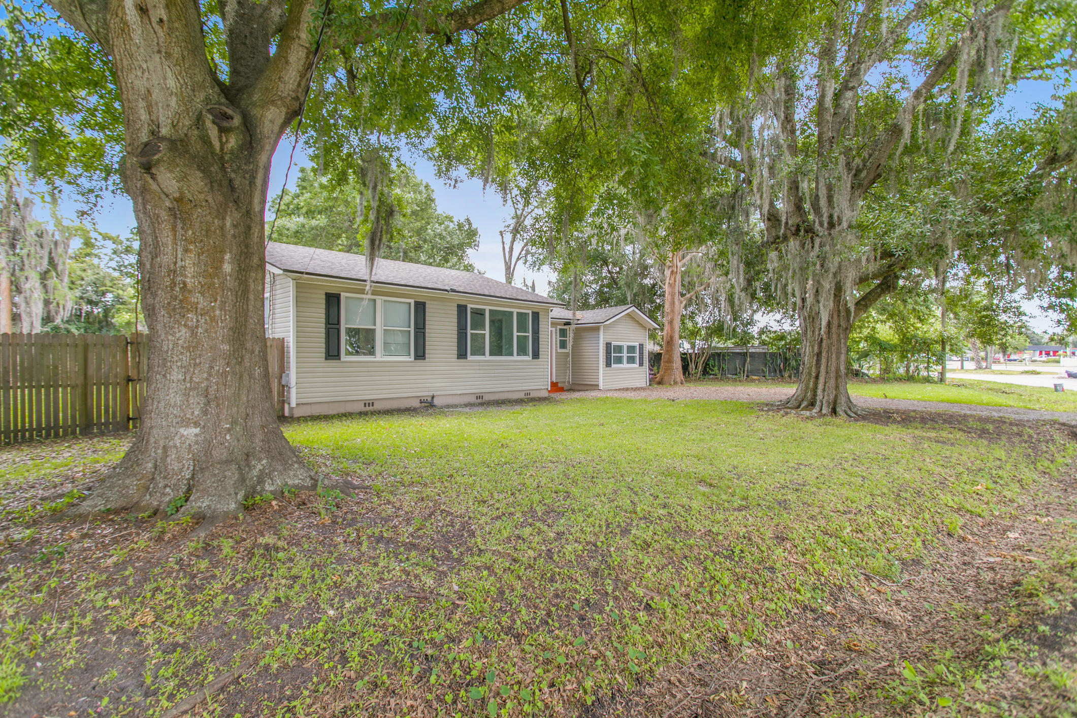 Welcome home to your freshly refinished Jacksonville bungalow! There's a lot to love about an older home that's been remodeled, you have those great bones...fantastic hardwood floors, fresh paint and a large, fenced yard and it's all waiting for you to make your offer. 2018 - New AC/Roof/Floors/Windows and Kitchen and Bath updated.  Low maintenance vinyl siding.   Great opportunity to make this your home or office or both because of the commercial zoning - CCG2.  Conveniently located to interstate, shopping and restaurants so don't let this one get away...come see it and make your offer today!