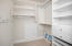 Upstairs Bedroom Outfitted with Custom Closet Organizer
